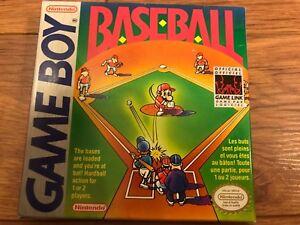 Baseball gameboy