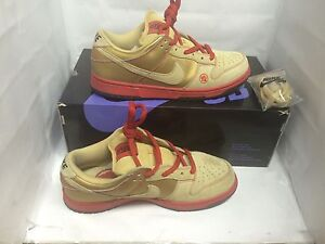 Nike Dunk Low Pro SB Lucky Cat /Money Cat Size 9.5 Supreme