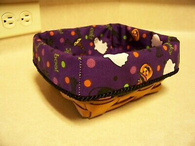 Halloween! Large Berry Basket Liner from Longaberger Halloween Party Fabric