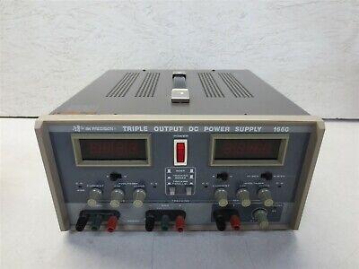 Bk Precision Triple Output Dc Power Supply Model 1660