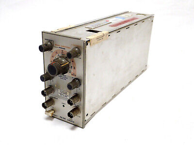 Tektronix Pg 501 Pg501 Pulse Generator Plug In Module For Tm500 System Tested