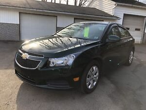 2014 Chevrolet Cruze 1 year factory warranty left!