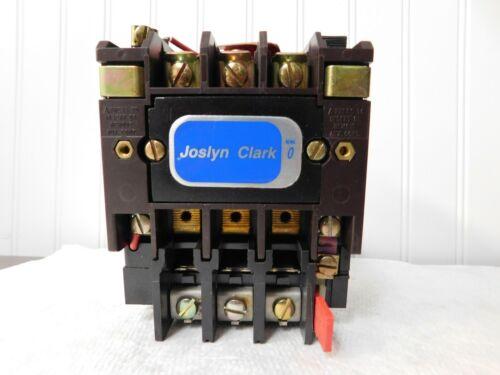 Joslyn Clark NEMA Motor Starters Amperage: 18 NEMA Size: 0 T13U030-86