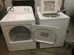 Beaumark (GE) Washer and Amana Dryer (electric)