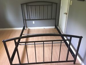 Metal headboard footboard and rails