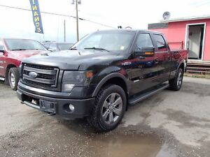 2013 FORD F-150 FX4 SUPERCREW 6.5-FT