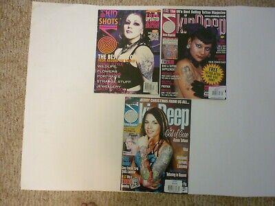 Skin Deep UK's Biggest & Bestselling Tattoo Magazine Shots