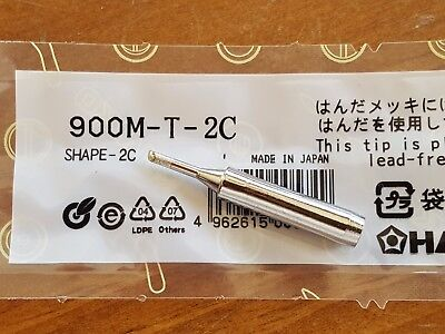 Soldering Solder Leader-free Solder Iron Tip For Hakko 936 900m-t-2c Us Ship