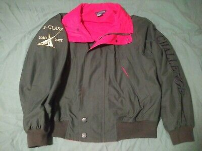 Nautica J Class Challenge Men's Green and Red Hooded Jacket Size XL in Mint Cond