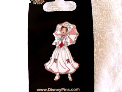 Disney Character Clothes (Disney * MARY POPPINS - White Dress * New on Card Movie Character Trading)