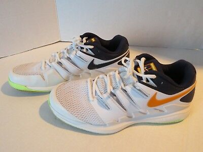 d9909dbcd95f3 Nike Air Zoom Vapor X HC - SIZE 11 - AA8030-004 Roger Federer Orange Navy  Volt