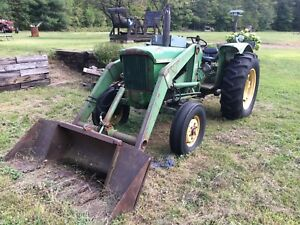 John deer 710 with loader