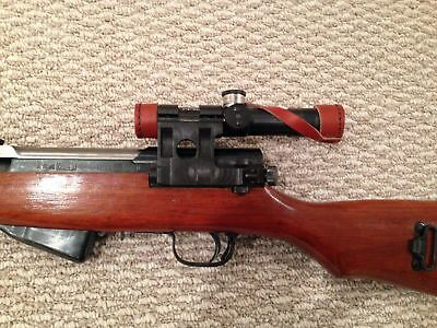 All steel PU sniper scope combo for Russian Chinese Norinco Yugo  SKS DMR