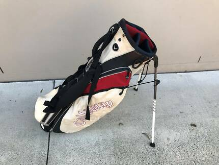 STINKY OLD CALLAWAY GOLF 6-WAY TOP CARRY STAND GOLF BAG USED