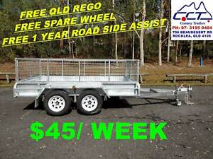 Take Home Layby!! 10x6 Tandem Trailer With 600mm Cage Package