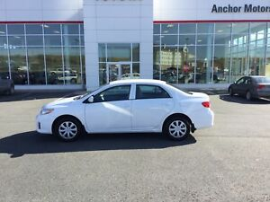 2012 Toyota Corolla CE AUTO; AIR;SW CONTROLS; HEATED SEATS; S...