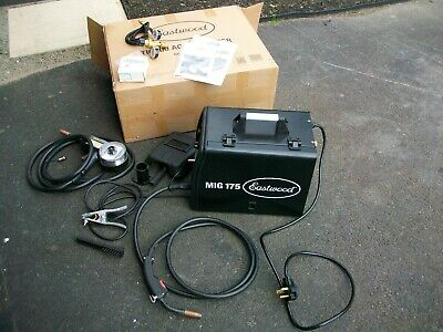 Eastwood Mig 175 Welder With Spool Gun For Steel Aluminum Mig Weld