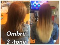 MICRO BEAD/TAPE IN HAIR EXTENSIONS $250+