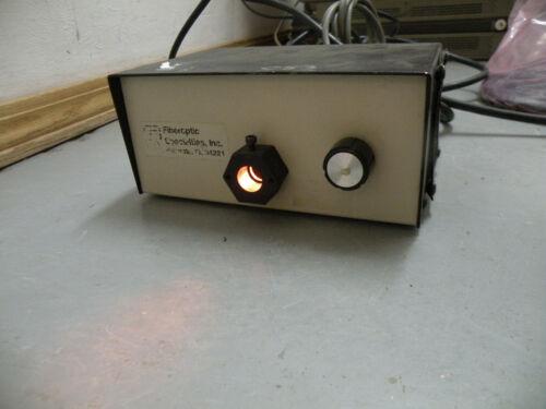 Fiberoptic Specialties Inc 50W Light Source / Illuminator LS87/100