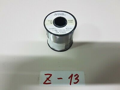 Kester Rosin Core Solder 6337 0.6mm Net Wt 500gr