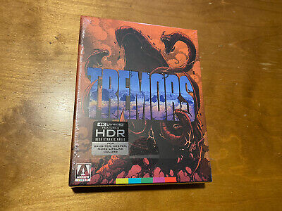 Tremors 4K Ultra HD*Arrow Video*2 Disc Limited Ed*OOP*Poster*Sealed/NEW*Rare*
