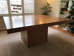 Solid Mango Wood 8 seat Dining Table