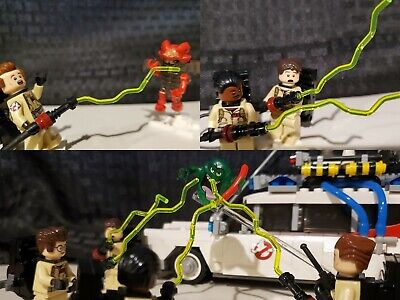 Custom Lego Ghostbusters Proton Beams (YELLOW) 75827 21108 PLEASE READ