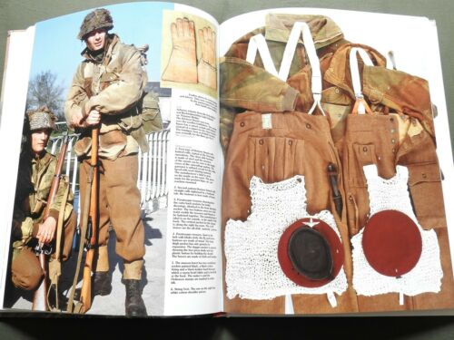 """""""D-DAY PARATROOPERS BRITISH CANADIANS FRENCH"""" WW2 HELMET SMOCK REFERENCE BOOK"""