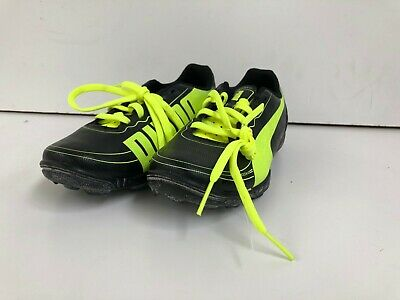 e54bea6f4 PUMA Kid s EvoSpeed 5 Football Trainers - UK 13.5 - Black Lime - New With  Defect