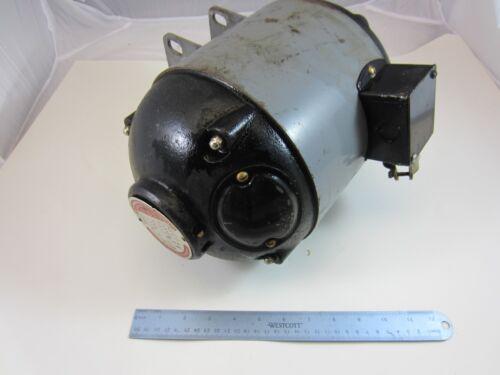 "Vintage Delta Milwaukee Unisaw Bullet Motor 1 1/2 HP 3 Phase 3/4"" Shaft"
