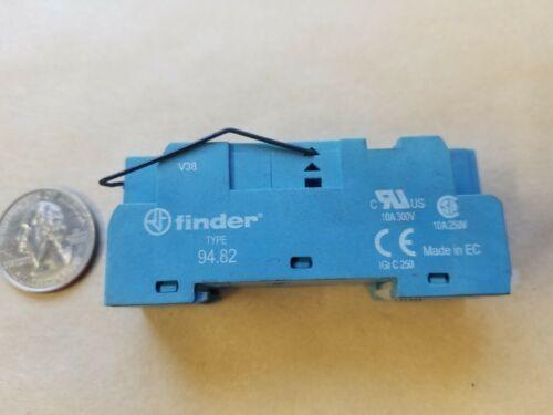 Finder 94.82 Relay Socket 10 A, 300 V