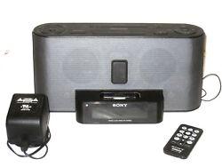 Sony Dream Machine FM/AM Alarm Clock Radio iPod iPhone Dock ICF-C1iPMK2
