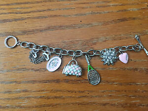 Juicy Couture bracelet with the charms