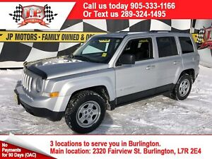 2012 Jeep Patriot Sport, Automatic, Power Group