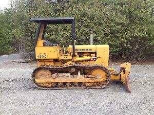 John Deere 450C Bulldozer