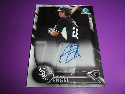2014 Adam Engel Bowman Chrome Auto Card   Get It Now