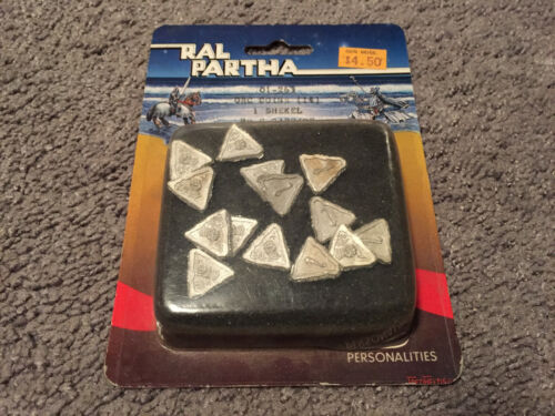Sealed Ral Partha Personalities ORC Coins 1 Shekel By S. Garrity 01-263