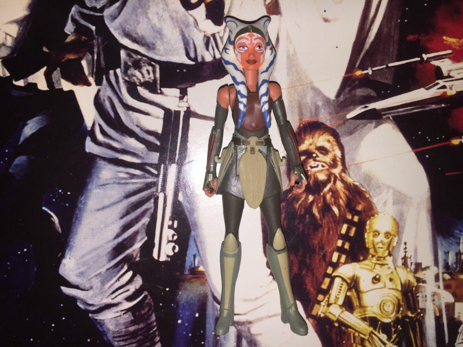 Hasbro Star Wars Ashoka Tano Rebels 3.75 Action Figure  - $20.50