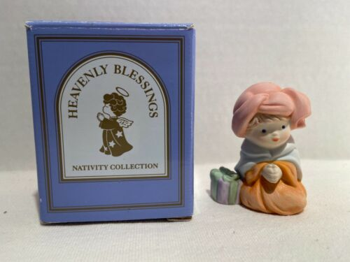 Avon Heavenly Blessings Nativity King Melchior 1986 with box