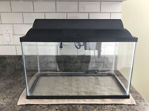 10 Gallon Fish Tank, Pump and Light