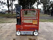 2012 SKYJACK SJ16 ELECTRIC MAN PERSONNEL SCISSOR LIFT EWP HOIST Austral Liverpool Area Preview
