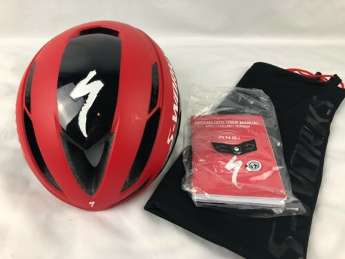 Specialized S-Works Evade II ANGi 1.0 Road Helmet SIZE Medium Black/Red