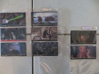 Star Wars Sammlerkarten Topps 3D Widevision zu Episode IV A new hope !Rarität!