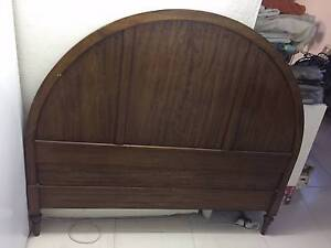 Cedar double bed head Northbridge Willoughby Area Preview