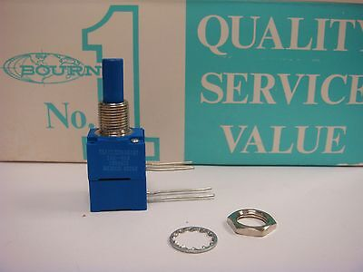 1 Bourns 96a2dz28ea0167 10k Ohm 58 Square Single Turn Potentiometer