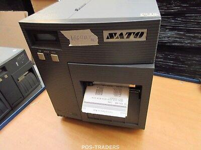 """SATO CL408E Parallel Thermo Label Drucker REWINDER 203dpi 4.1"""" 104mm - 16640.2 M"""