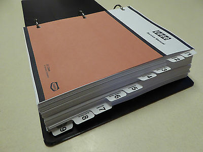 Case 580c Loader Backhoe Service Manual Repair Shop Book New With Binder
