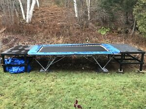 Competitive Trampoline
