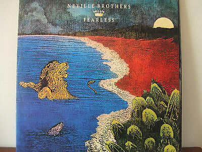 """NEVILLE BROTHERS - FEARLESS / 12"""" 45"""
