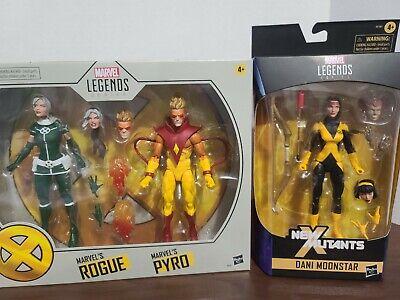 Marvel Legends X-Men Rogue Pyro and Dani Moonstar